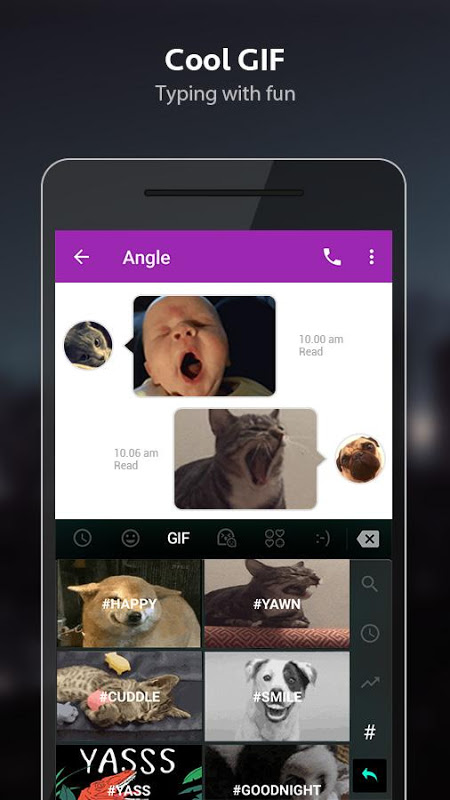 TouchPal Emoji Keyboard 6.1.4.4 Screen 9