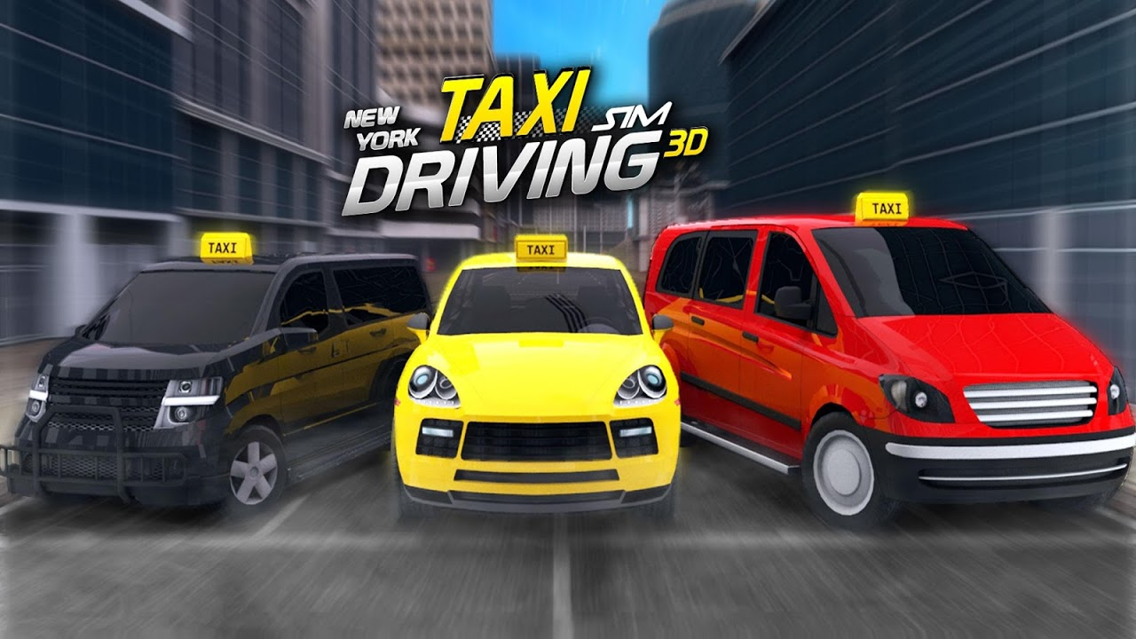 Android New York Taxi Driving Sim 3D Screen 2