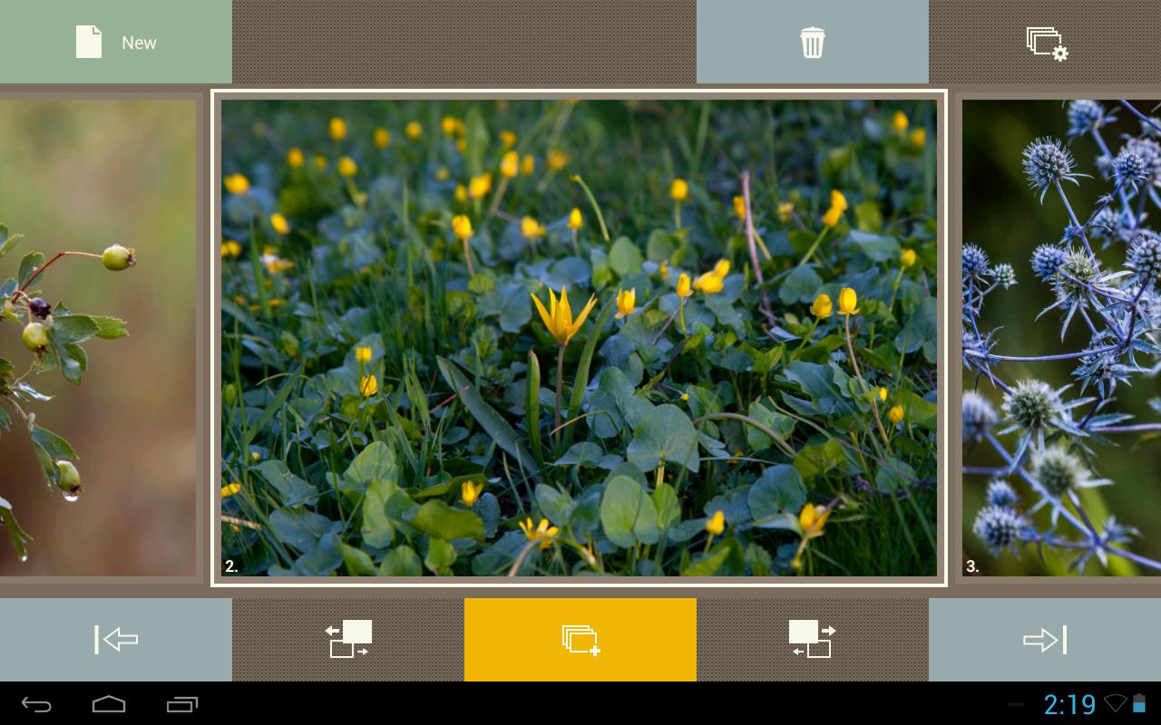 Android SlideFX Video Creator Screen 4