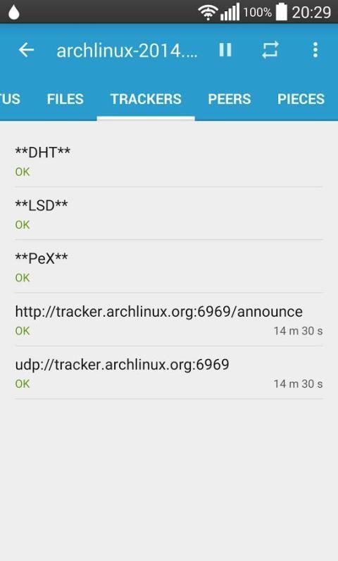 Flud - Torrent Downloader 1.4.9 Screen 5