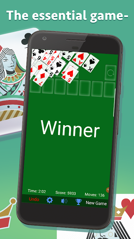 Solitaire 3.5.1.3 Screen 2