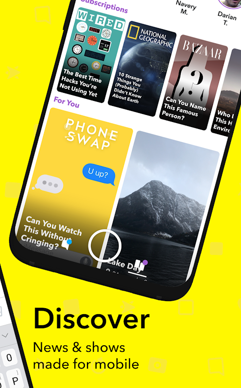 Snapchat 10.55.2.0 Beta Screen 3