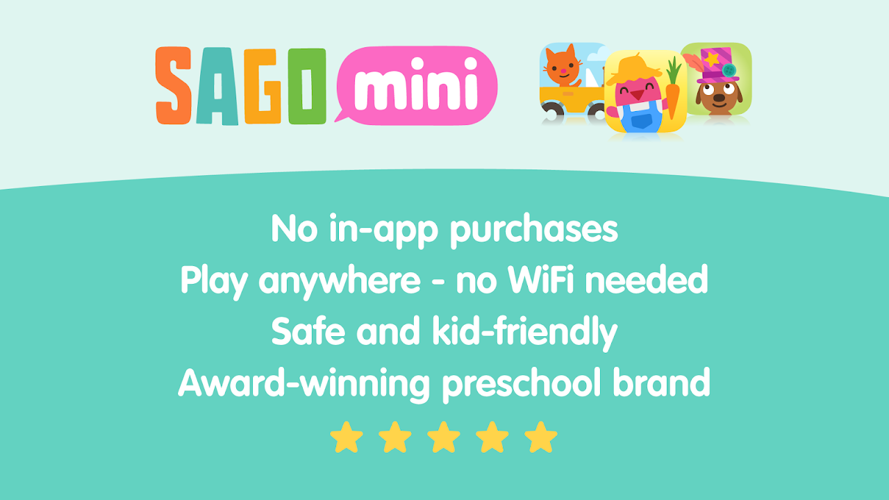 Android Sago Mini Snow Day Screen 5