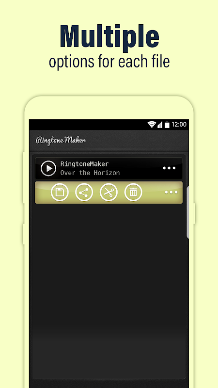 Android Call Ringtone Maker – MP3 & Music Cutter Screen 3