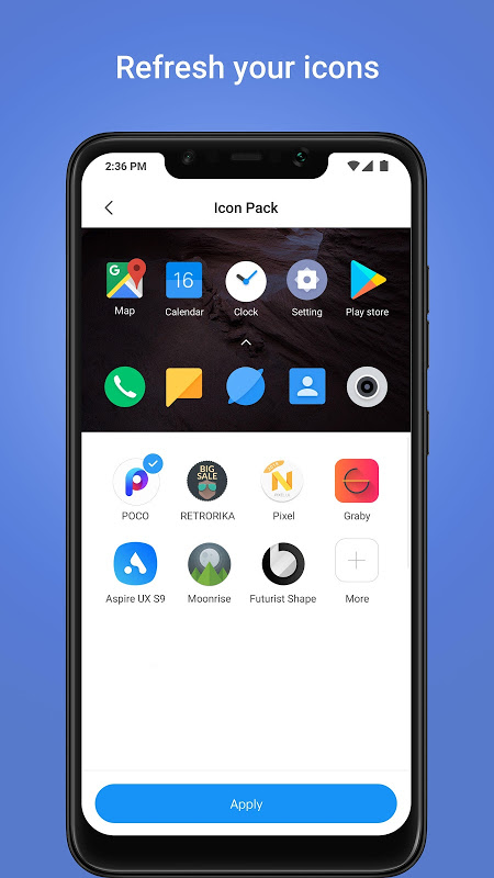 POCO Launcher 2.6.3.7 Screen 2