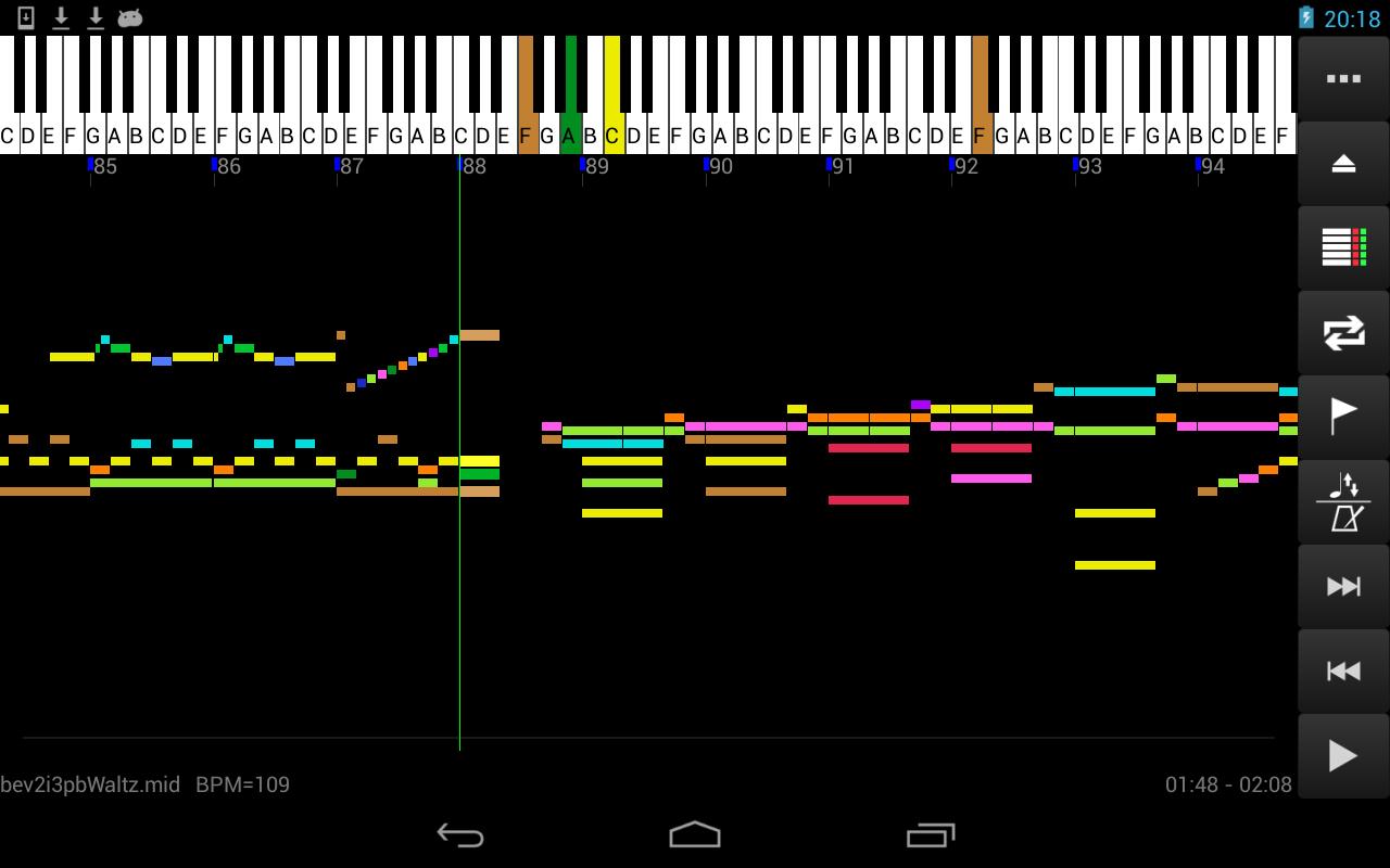 MIDI Voyager Karaoke Player 5.3.3 Screen 3