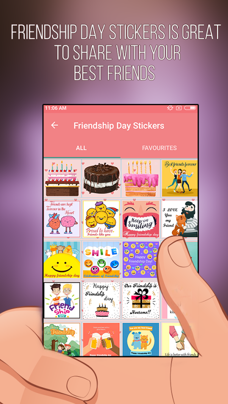 Android Love Stickers - Romantic Stickers For Whatsapp Screen 7
