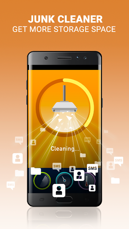 Android DFNDR: Antivirus, Booster & Cleaner Screen 1