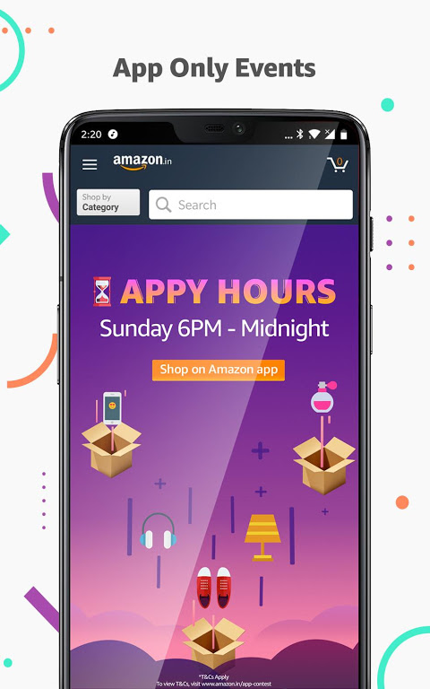 Amazon India Online Shopping 16.15.2.350 Screen 1