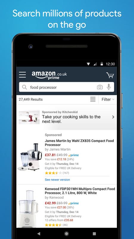 Amazon Shopping 16.01.0.100 Screen 2