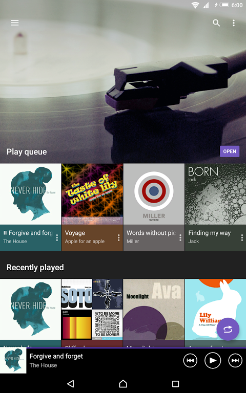 Android Music Screen 9