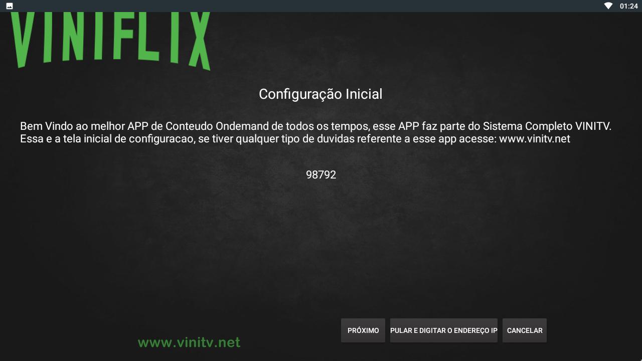 VINIFLIX VINITV - Versão Tv Box 1.4.61g Screen 1
