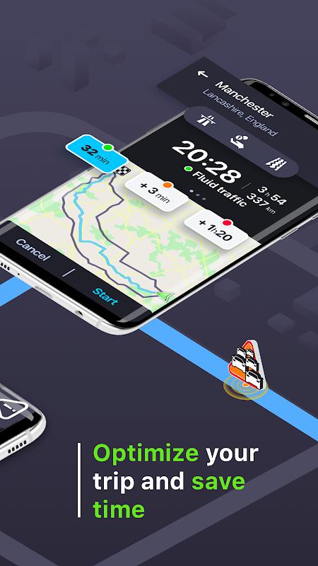 Coyote: Alerts, GPS & traffic 11.0.672 Screen 1
