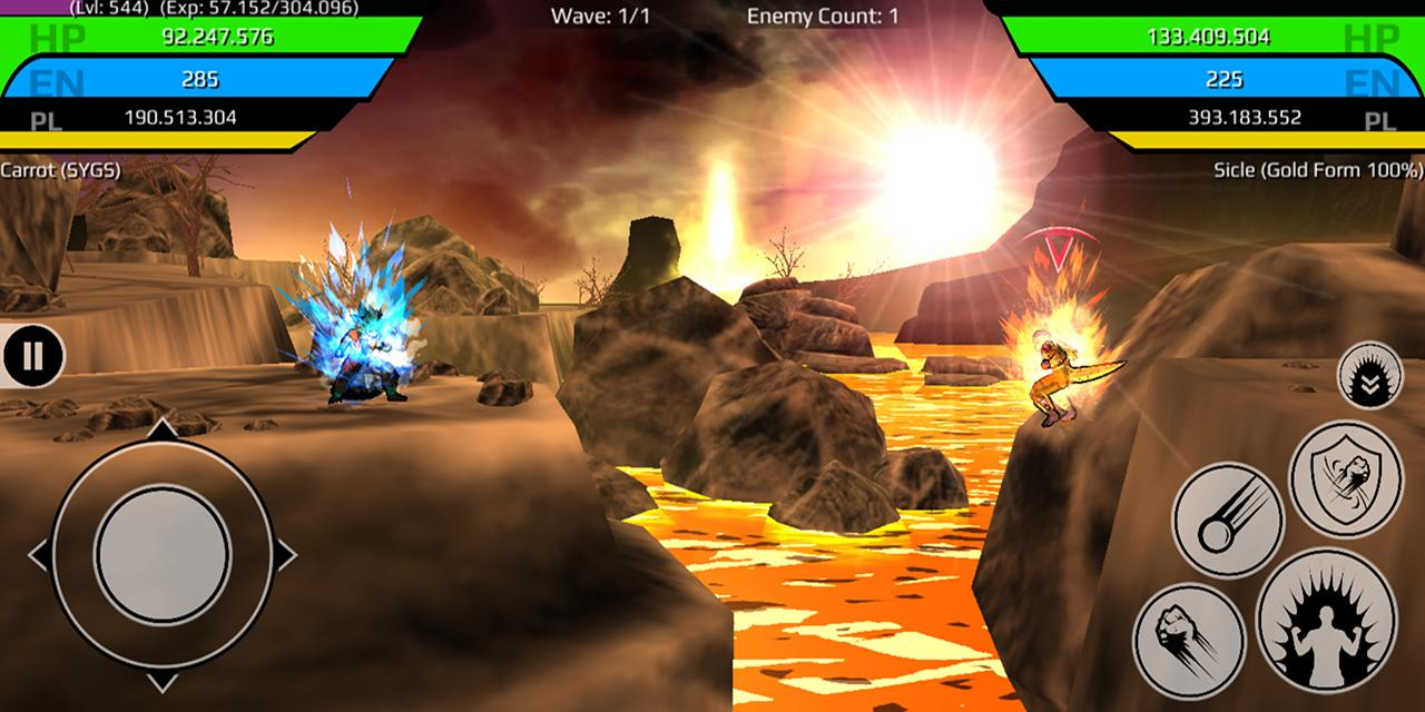 The Final Power Level Warrior (RPG) 1.2.7p2 Screen 5