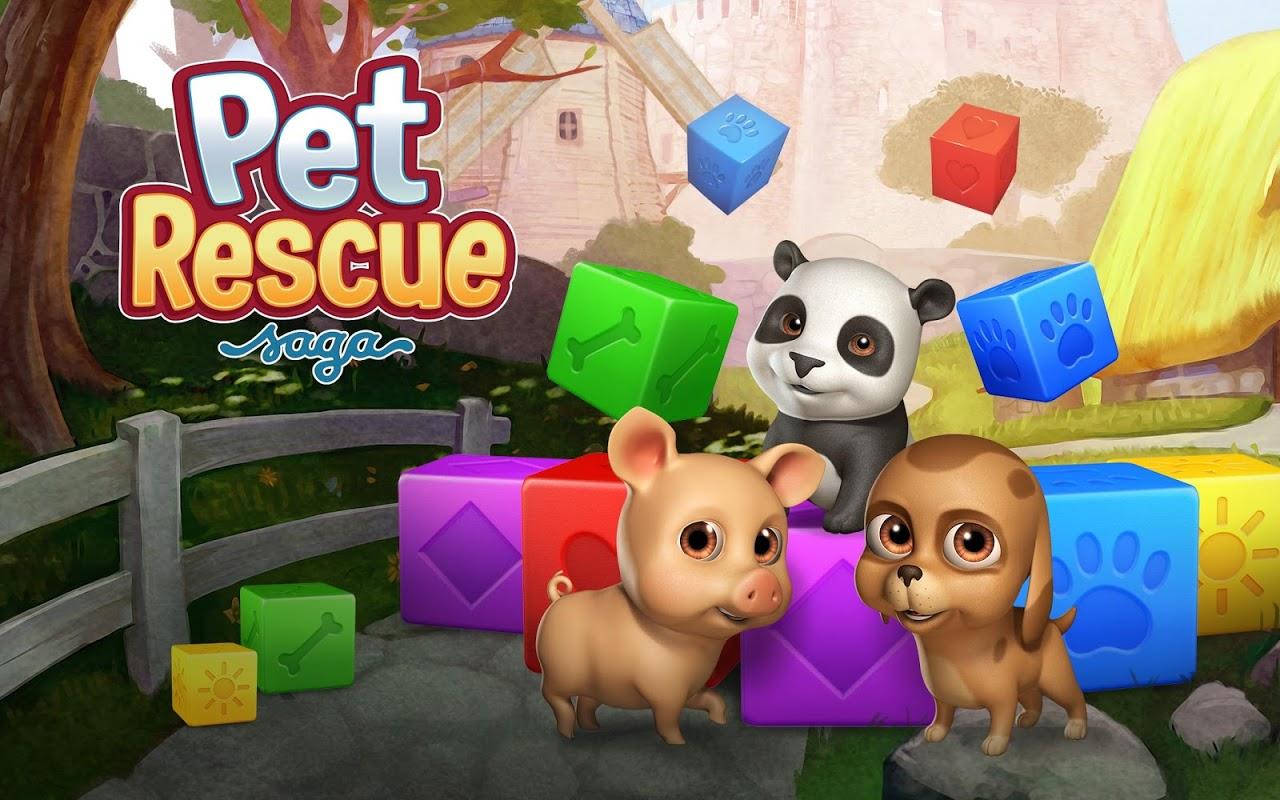 Android Pet Rescue Saga Screen 1