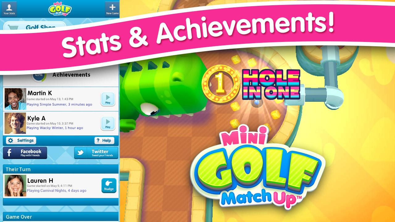 Android Mini Golf MatchUp™ Screen 4