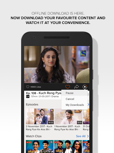 KBC Season 10, Latest Movies & TV Shows – SonyLIV 4.7.2 Screen 3