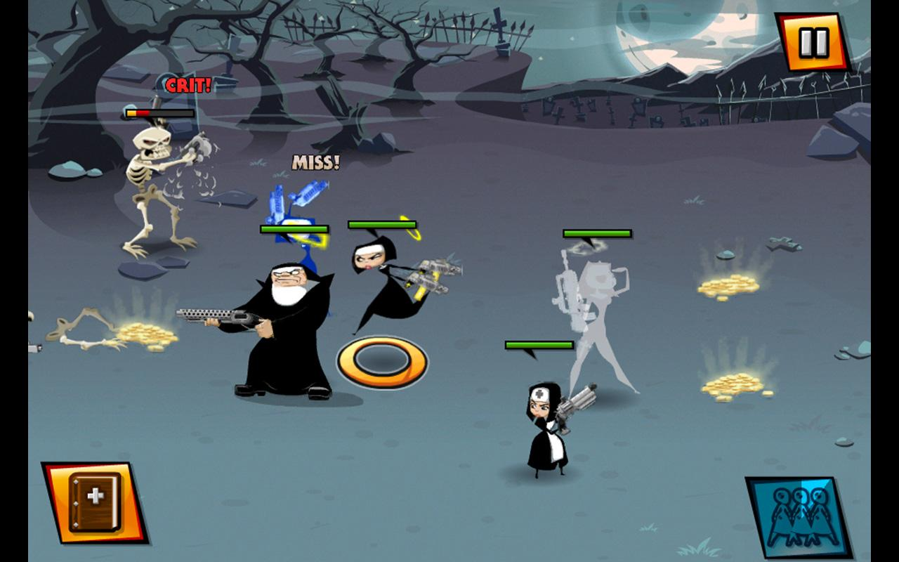 Android Nun Attack Screen 3