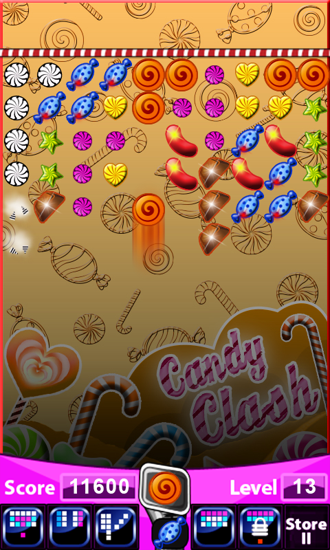 Android Candy Clash Screen 4