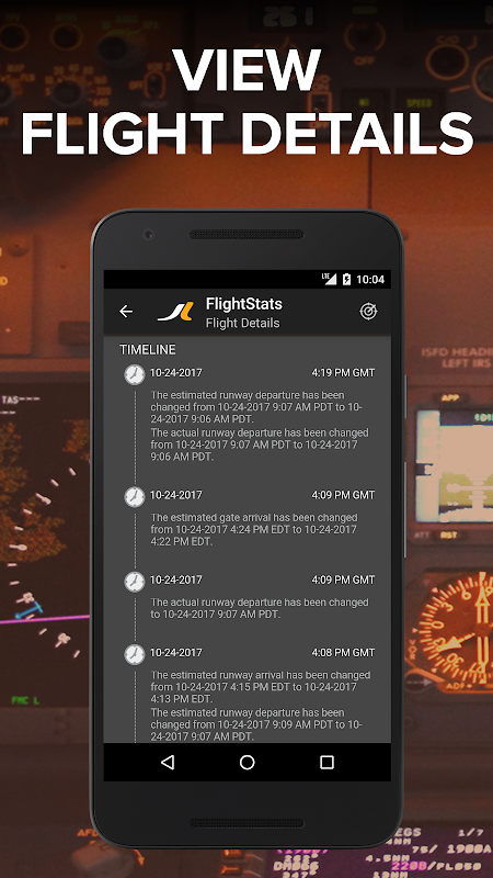 Android FlightStats Screen 2