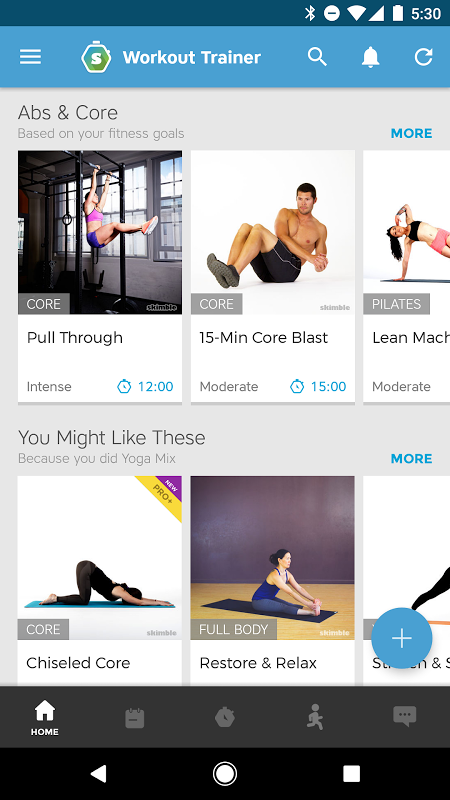 Android Workout Trainer: fitness coach Screen 14