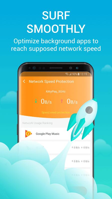 Network Security Pro - Speed test & VPN 1.1.6 Screen 1