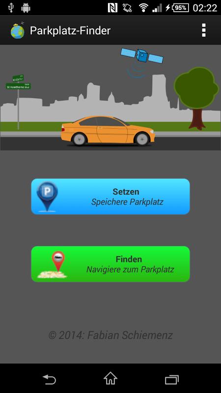 Parkplatzfinder Tasker-Plugin 4.0 Screen 1