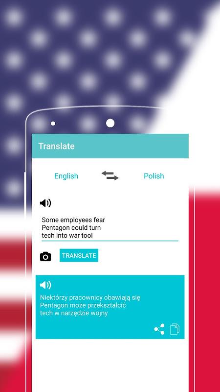Android English to Polish Dictionary Screen 6