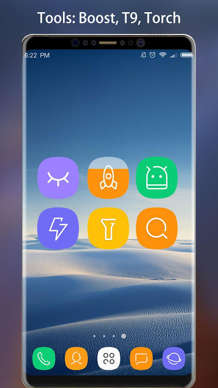 Android Note 8 Launcher - Galaxy Note8 launcher, theme Screen 5
