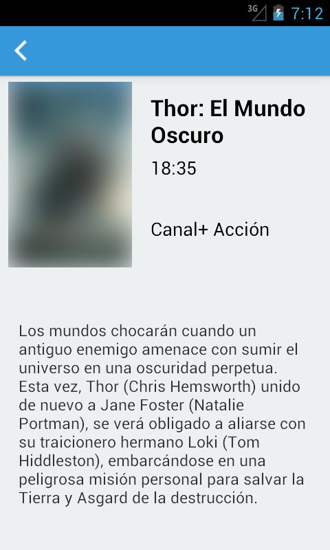 Android Spanish Television Guide Free Screen 2
