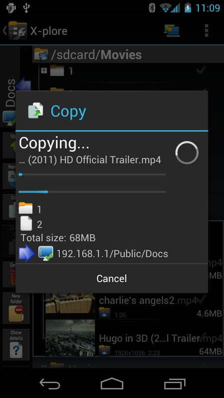 X-plore File Manager 3.89.00 Screen 6