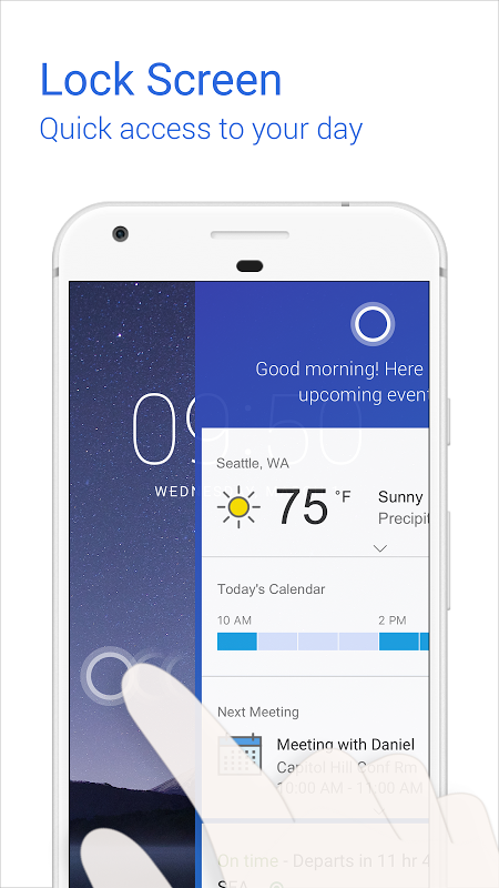 Android Cortana for Android (Unreleased) Screen 3