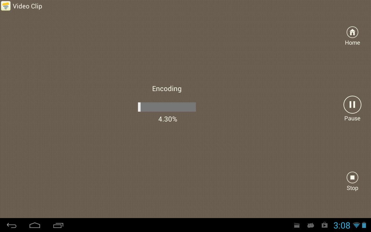 Android SlideFX Video Creator Screen 2
