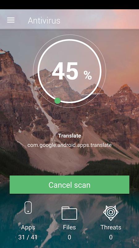 Free antivirus and VPN 3.3.9 Screen 8