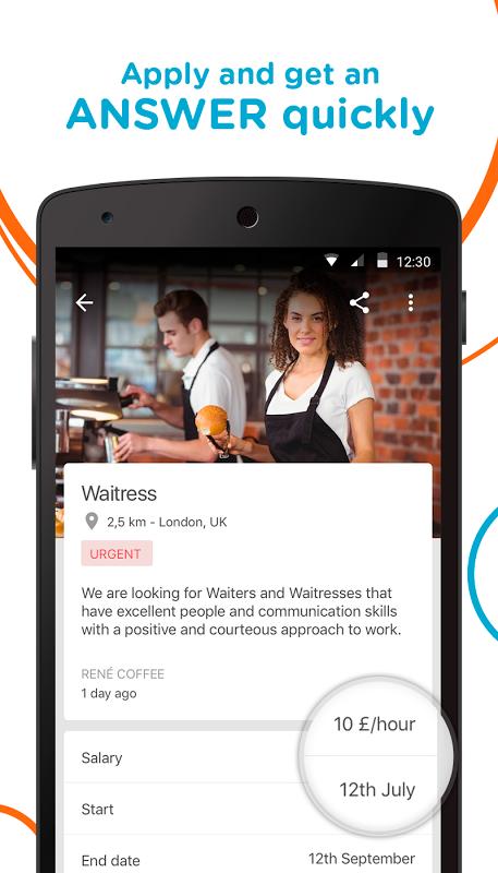 CornerJob - Find job offers 1.4.2 Screen 1