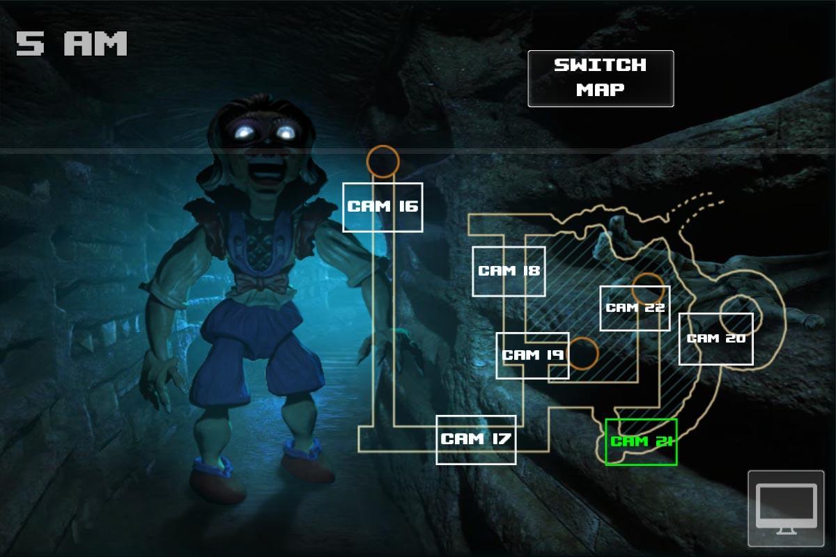 Android Zoolax Nights:Evil Clowns Full Screen 4