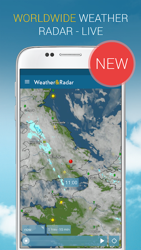 Weather & Radar UK 4.41.2 Screen 2