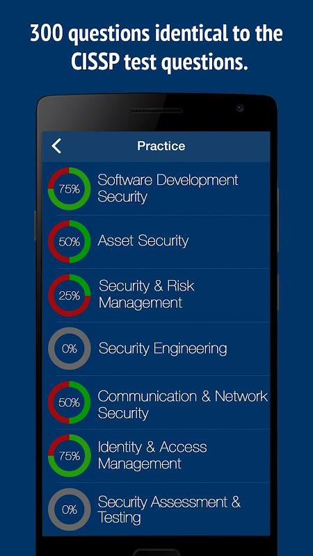 CISSP Practice Exam 2019 CBK-5 APKs | Android APK