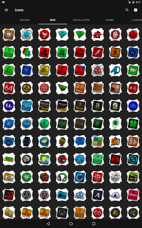 Android Stacks Icon Pack v4.2 Screen 12