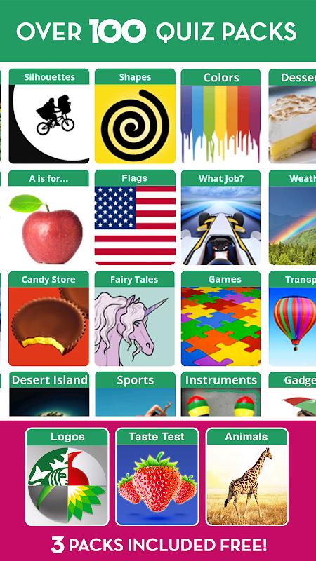 100 PICS Quiz - guess the picture trivia games 1.5.2.3 Screen 4