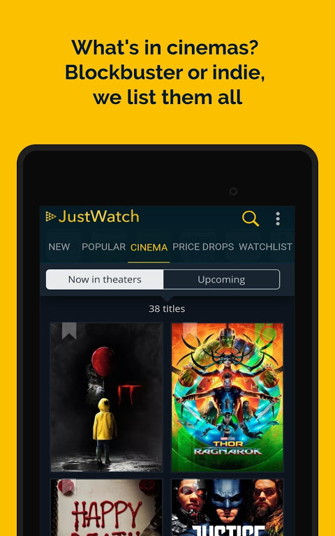JustWatch - Search Engine for Streaming and Cinema 0.24.58 Screen 17
