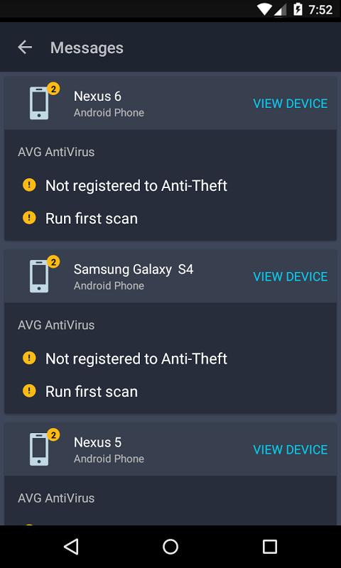 Android AVG?Zen Screen 5