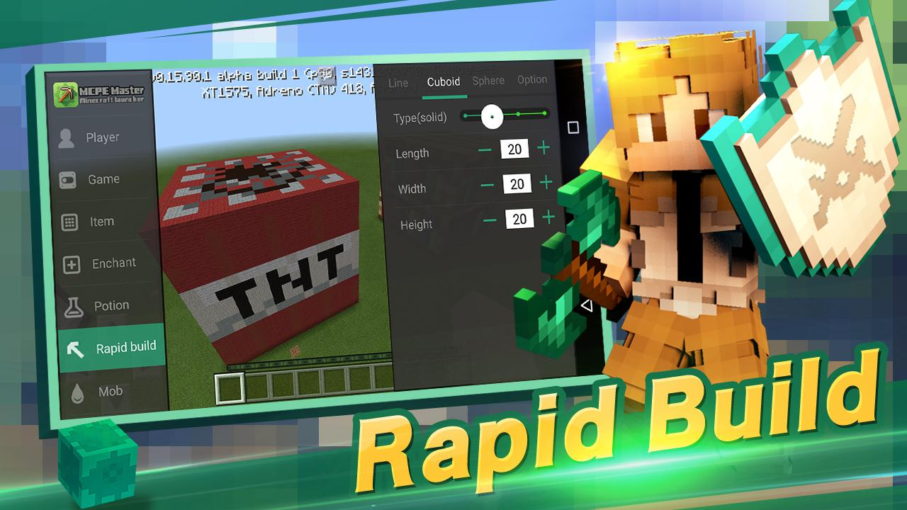 Master for Minecraft- Launcher 2.1.54 Screen 4