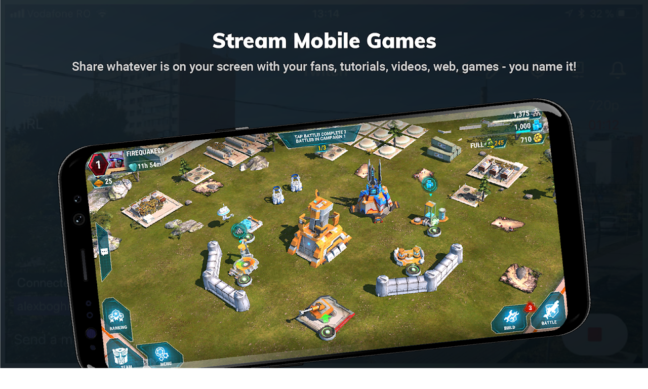 Streamlabs - Stream Live to Twitch and Youtube 1.4.51 Screen 1