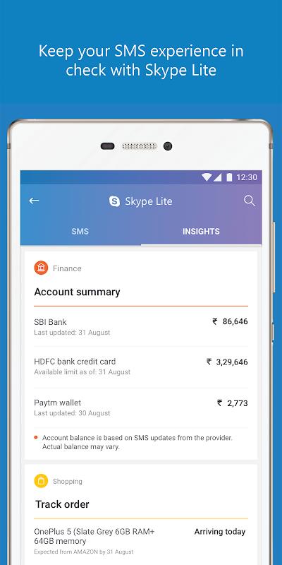 Skype Lite - Free Video Call & Chat 1.79.76.3 Screen 3