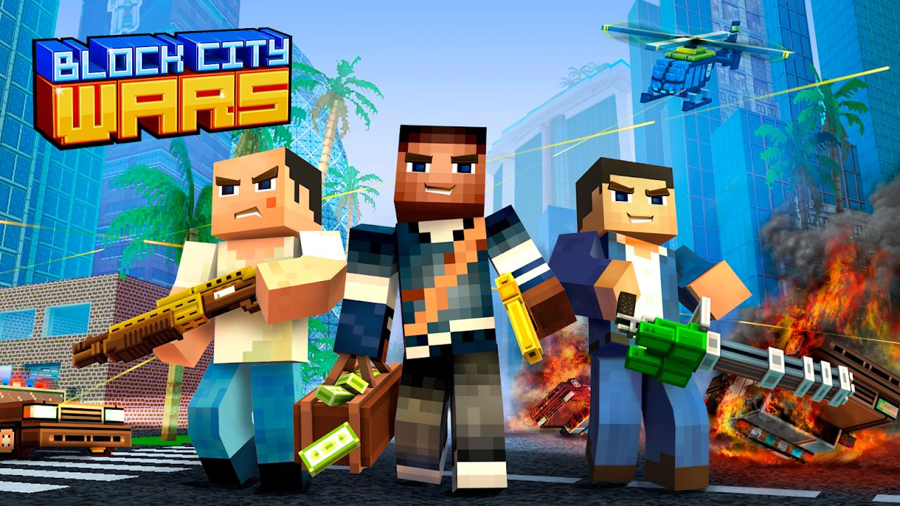 Block City Wars + skins export 7.1.4 Screen 3