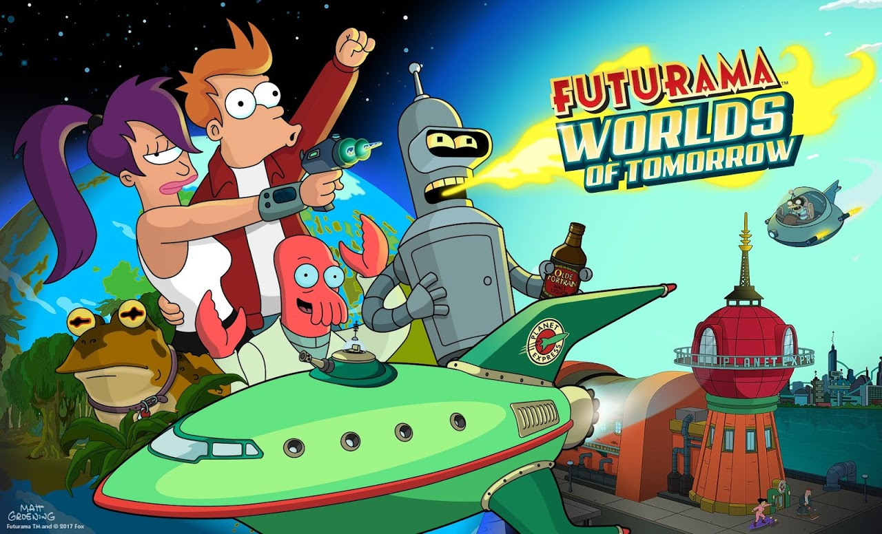 Android Futurama: Worlds of Tomorrow Screen 7