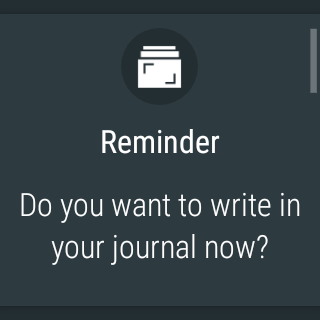 Android Journey - Diary, Journal Screen 20