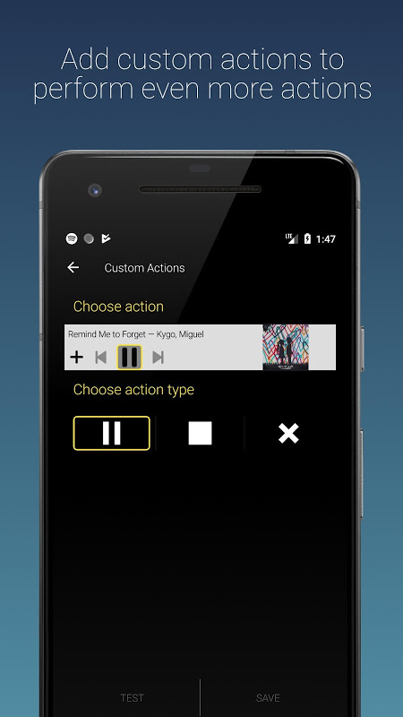 Sleep Timer (Turn music off) 2.5.4 Screen 5