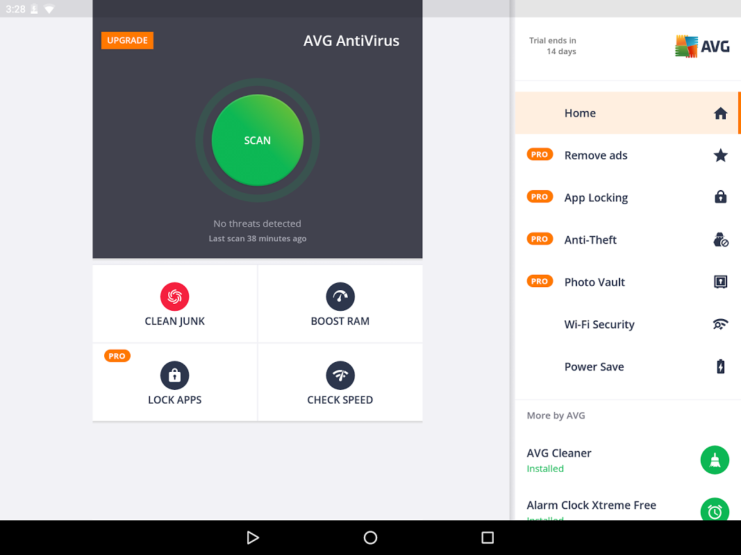 Android AVG AntiVirus FREE for Android Security 2017 Screen 8